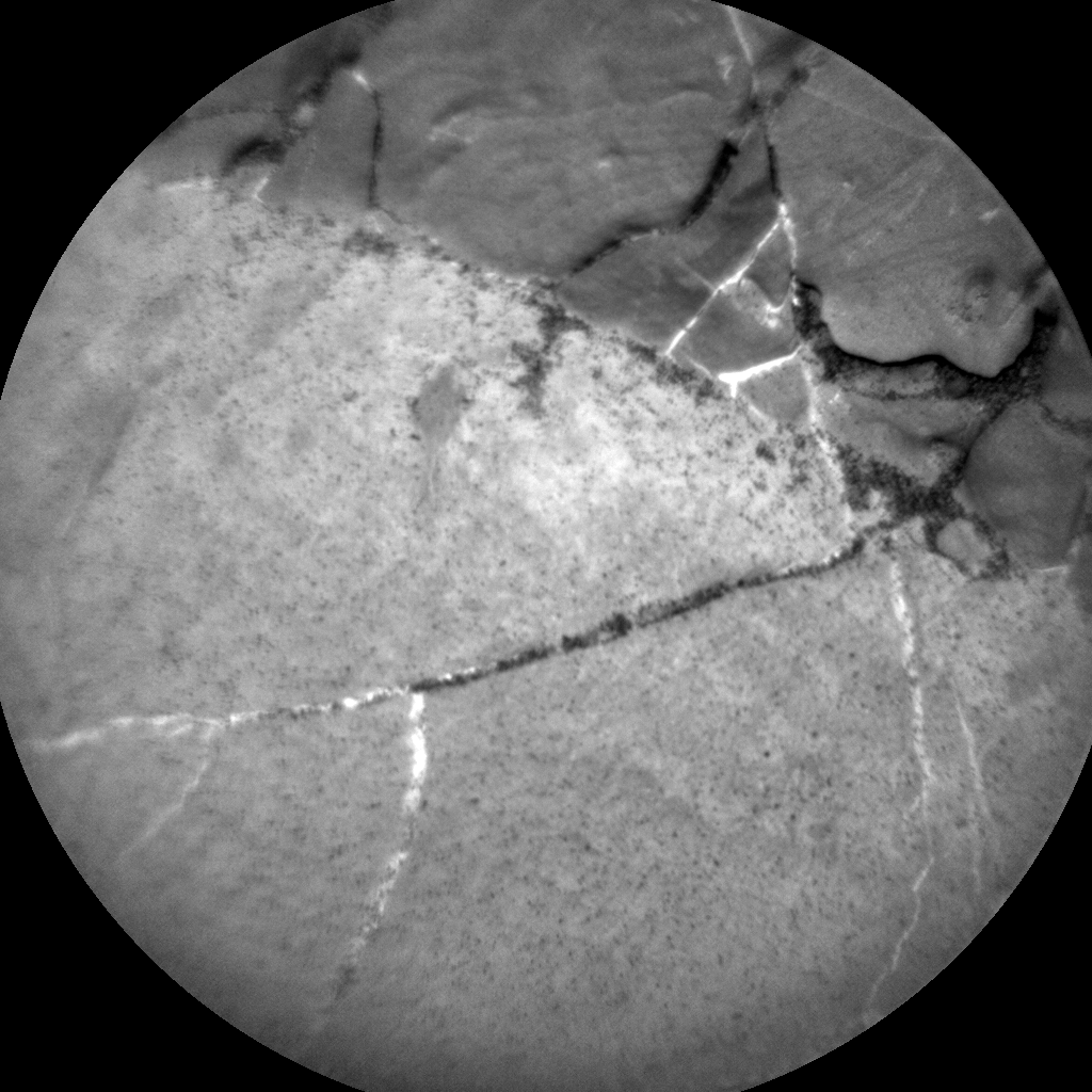 Nasa's Mars rover Curiosity acquired this image using its Chemistry & Camera (ChemCam) on Sol 1895, at drive 806, site number 67