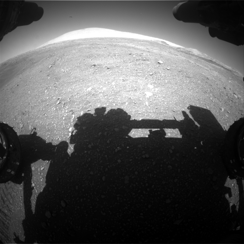 Nasa's Mars rover Curiosity acquired this image using its Front Hazard Avoidance Camera (Front Hazcam) on Sol 1896, at drive 1016, site number 67