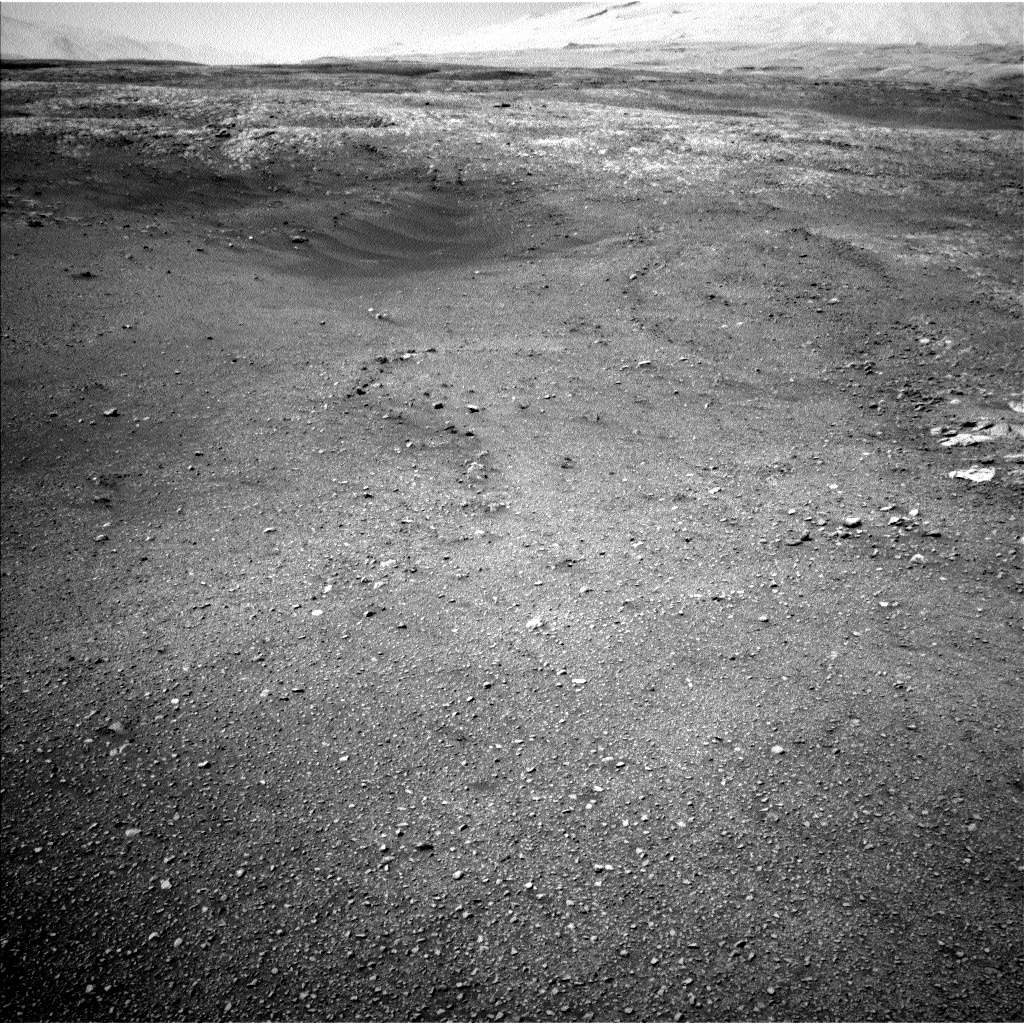 Nasa's Mars rover Curiosity acquired this image using its Left Navigation Camera on Sol 1896, at drive 908, site number 67
