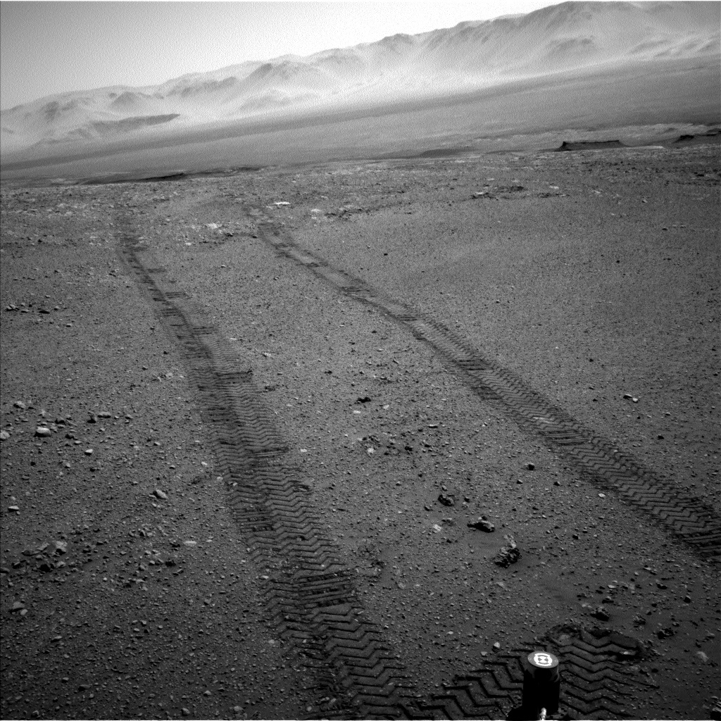 NASA's Mars rover Curiosity acquired this image using its Left Navigation Camera (Navcams) on Sol 1896