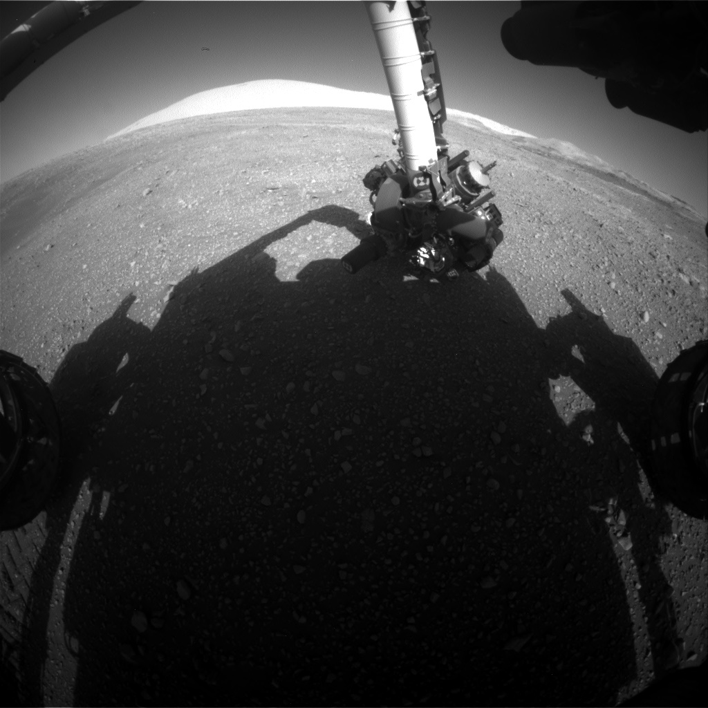 Nasa's Mars rover Curiosity acquired this image using its Front Hazard Avoidance Camera (Front Hazcam) on Sol 1897, at drive 1016, site number 67