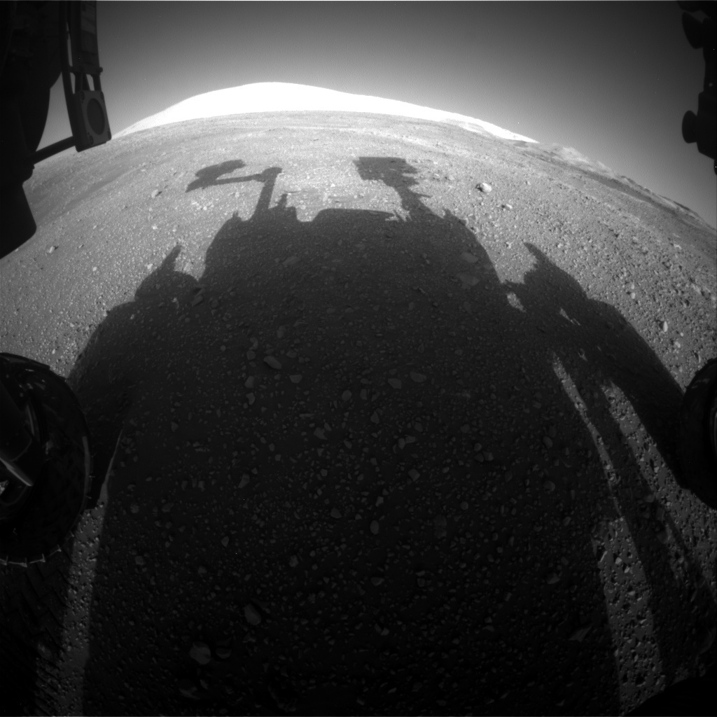 NASA's Mars rover Curiosity acquired this image using its Front Hazard Avoidance Cameras (Front Hazcams) on Sol 1898
