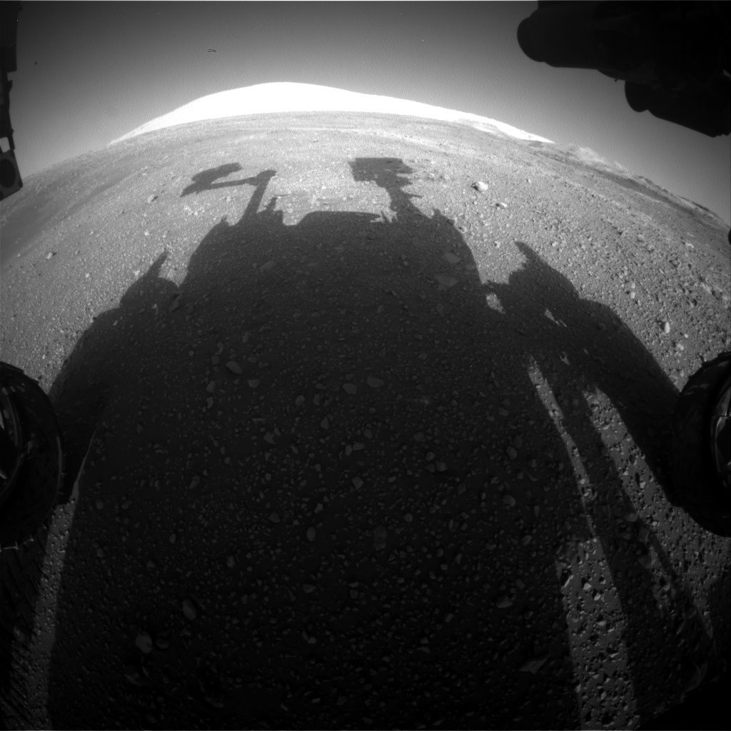 Nasa's Mars rover Curiosity acquired this image using its Front Hazard Avoidance Camera (Front Hazcam) on Sol 1898, at drive 1016, site number 67