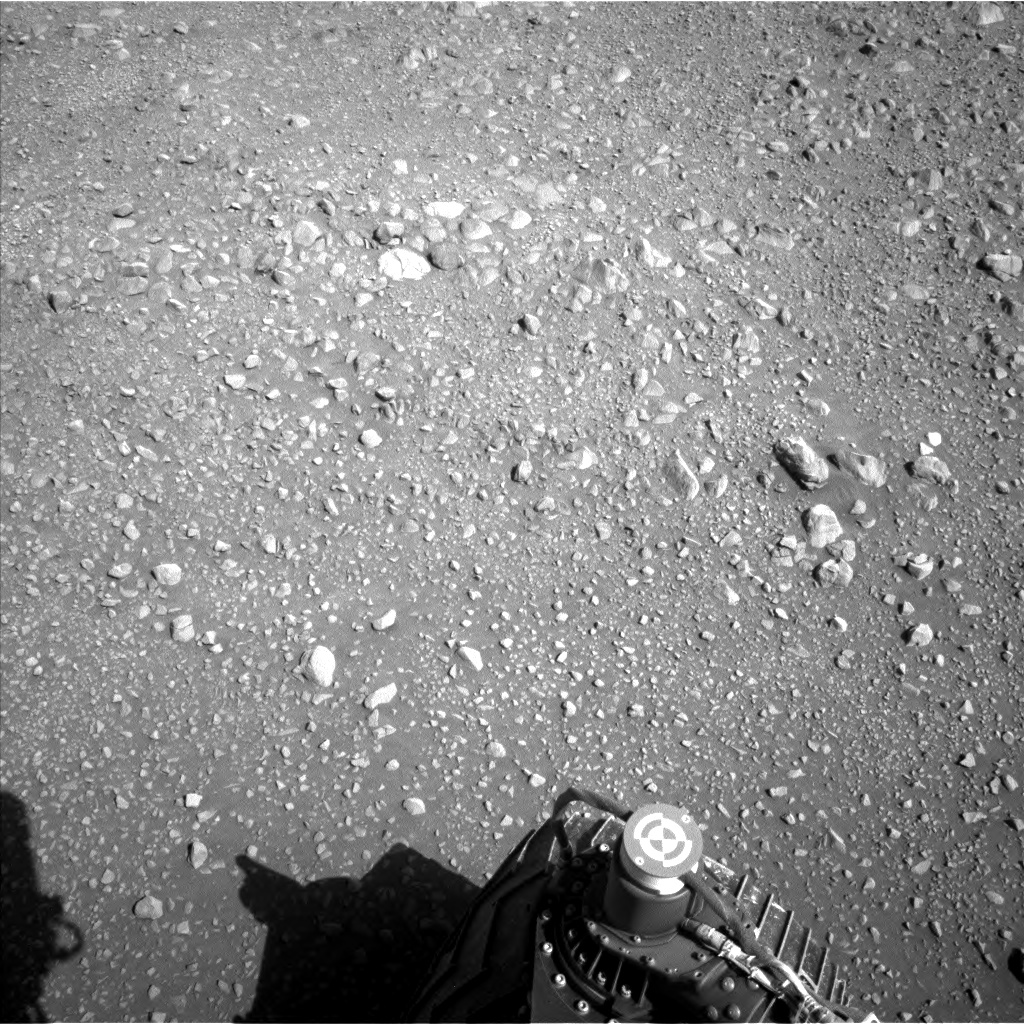 Nasa's Mars rover Curiosity acquired this image using its Left Navigation Camera on Sol 1898, at drive 1016, site number 67
