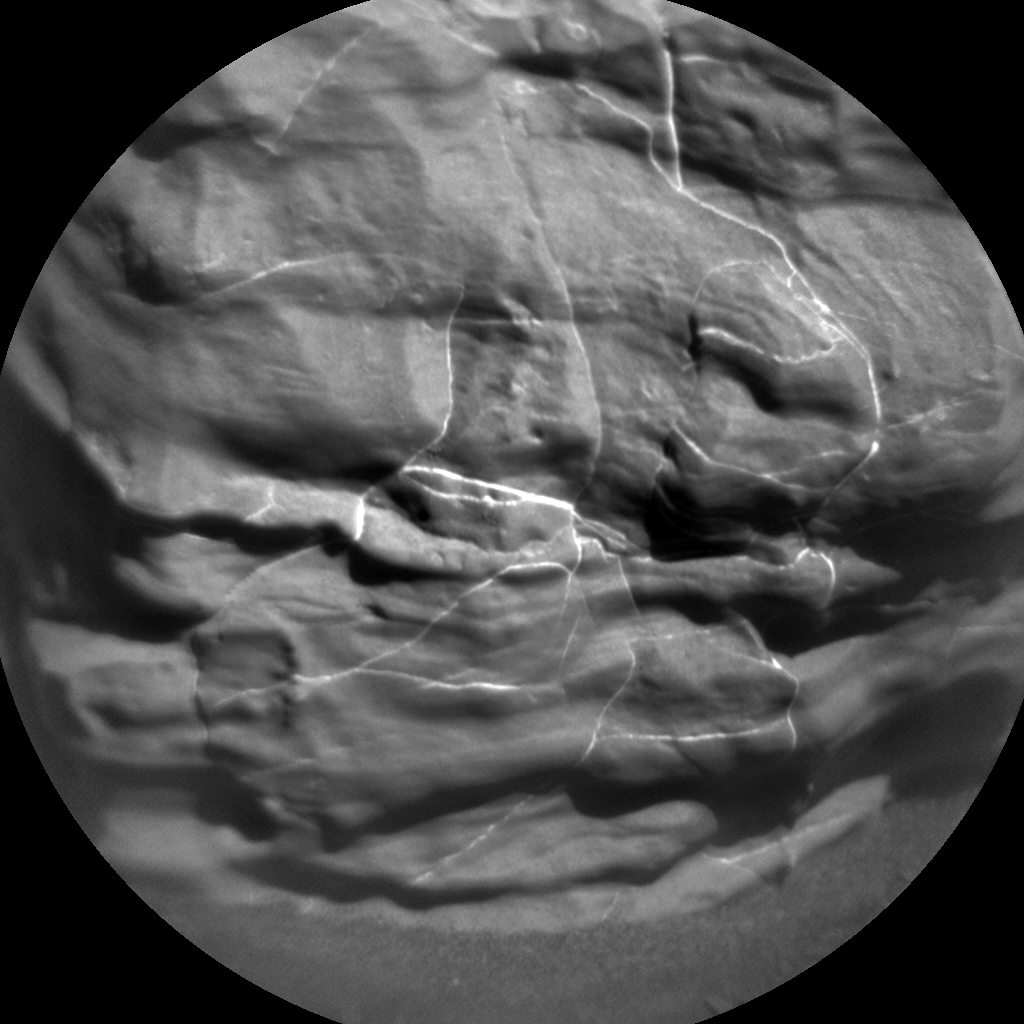 Nasa's Mars rover Curiosity acquired this image using its Chemistry & Camera (ChemCam) on Sol 1899, at drive 1016, site number 67