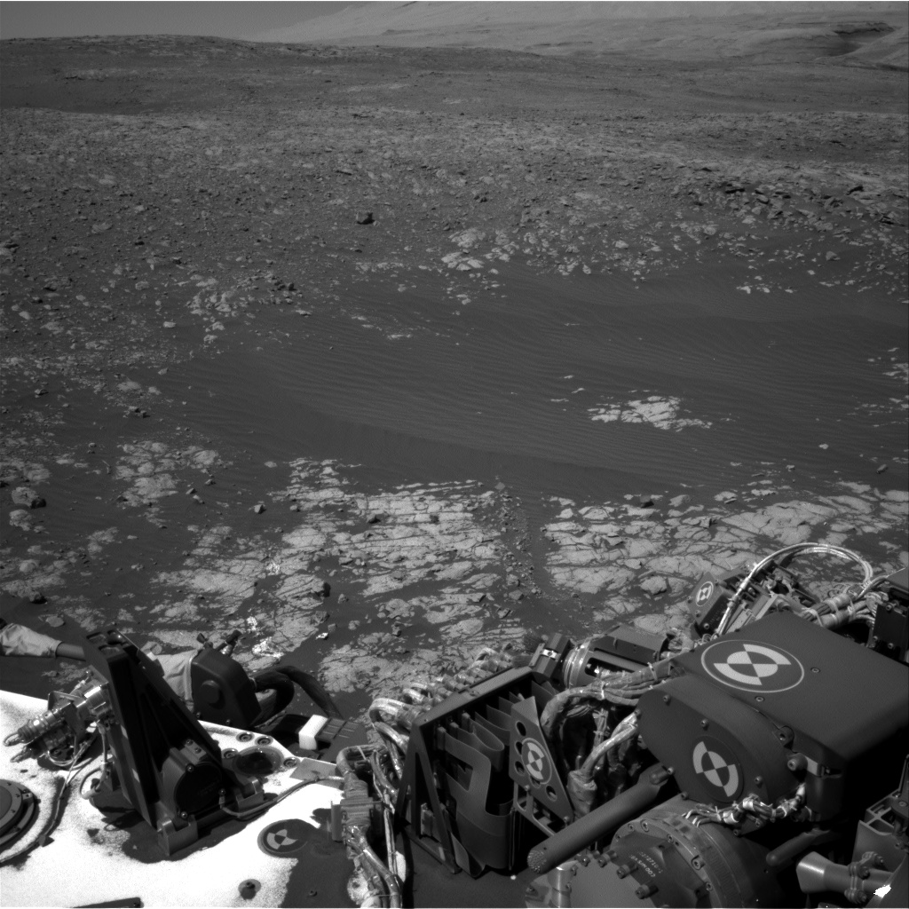 Nasa's Mars rover Curiosity acquired this image using its Right Navigation Camera on Sol 1901, at drive 1238, site number 67
