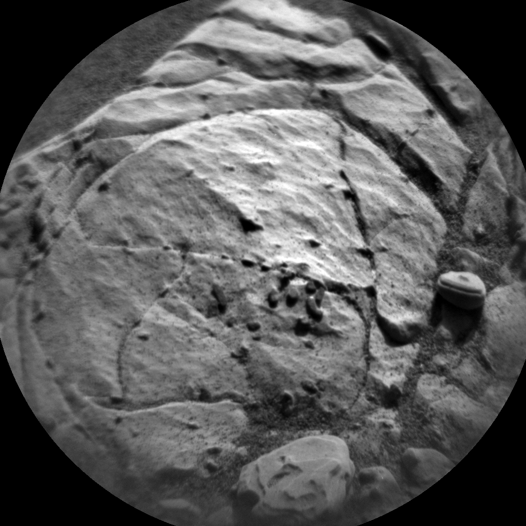 Nasa's Mars rover Curiosity acquired this image using its Chemistry & Camera (ChemCam) on Sol 1901, at drive 1238, site number 67