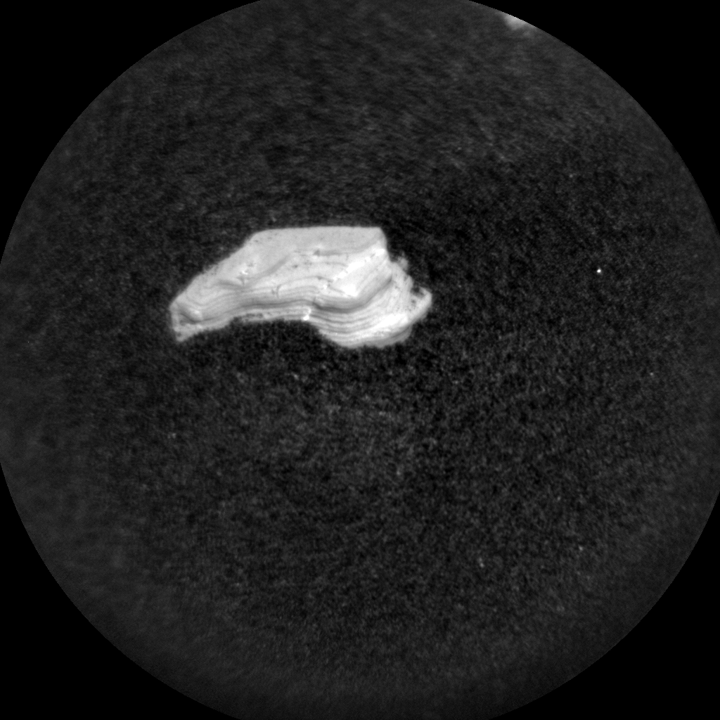Nasa's Mars rover Curiosity acquired this image using its Chemistry & Camera (ChemCam) on Sol 1902, at drive 1238, site number 67