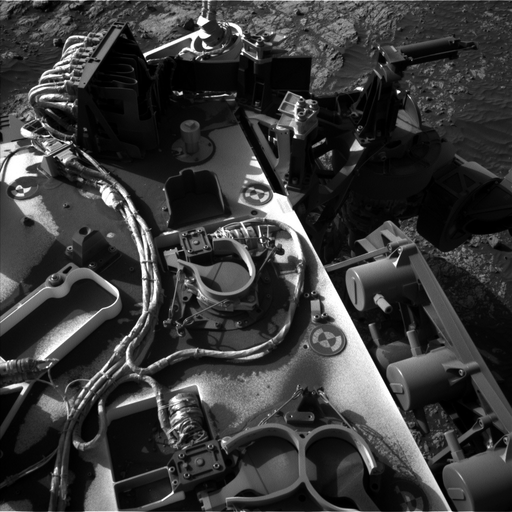 Nasa's Mars rover Curiosity acquired this image using its Left Navigation Camera on Sol 1903, at drive 1238, site number 67