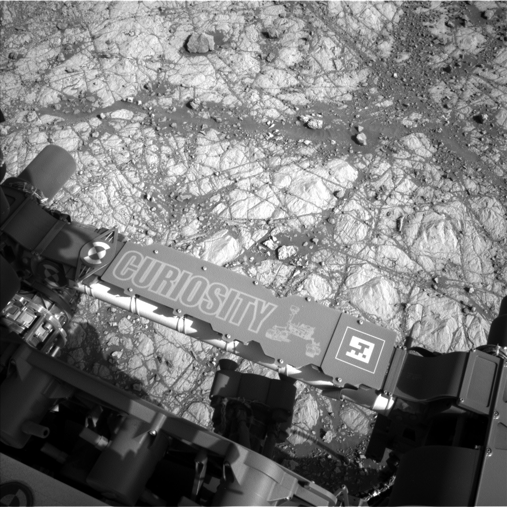 Nasa's Mars rover Curiosity acquired this image using its Left Navigation Camera on Sol 1903, at drive 1358, site number 67