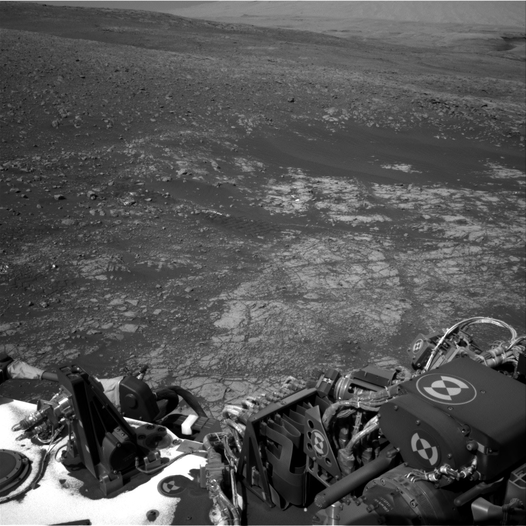 Nasa's Mars rover Curiosity acquired this image using its Right Navigation Camera on Sol 1903, at drive 1358, site number 67