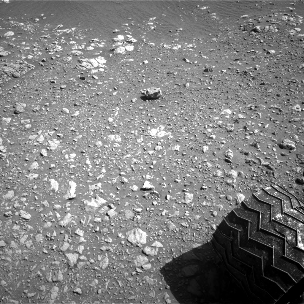 Nasa's Mars rover Curiosity acquired this image using its Left Navigation Camera on Sol 1905, at drive 1494, site number 67
