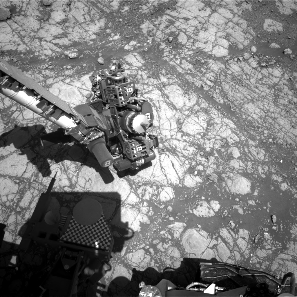 Nasa's Mars rover Curiosity acquired this image using its Right Navigation Camera on Sol 1905, at drive 1358, site number 67
