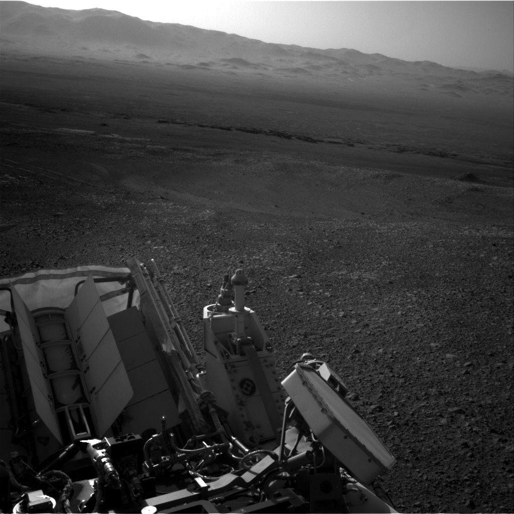 Nasa's Mars rover Curiosity acquired this image using its Right Navigation Camera on Sol 1905, at drive 1494, site number 67