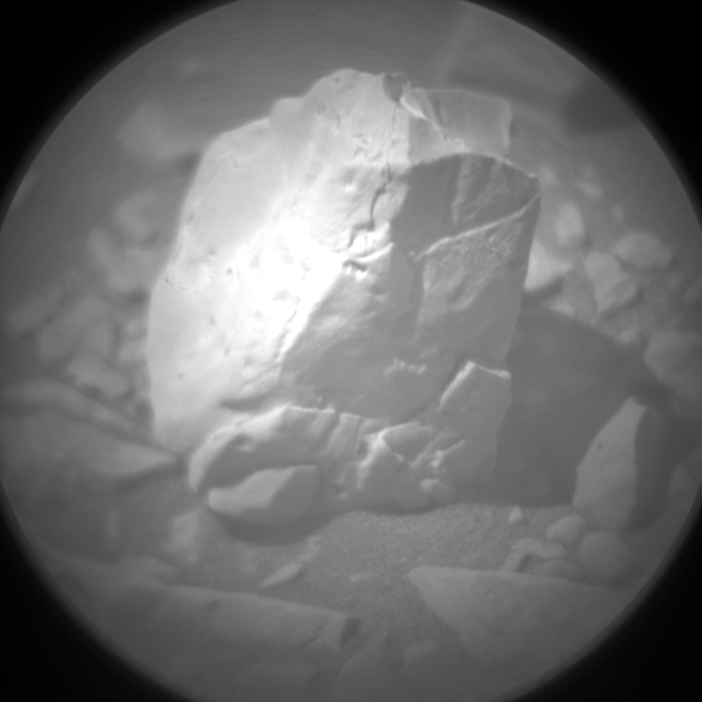 Nasa's Mars rover Curiosity acquired this image using its Chemistry & Camera (ChemCam) on Sol 1906, at drive 1494, site number 67