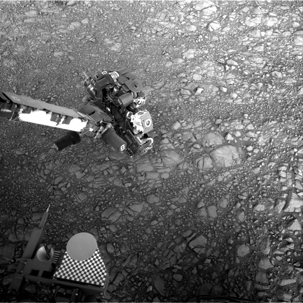Nasa's Mars rover Curiosity acquired this image using its Right Navigation Camera on Sol 1906, at drive 1494, site number 67