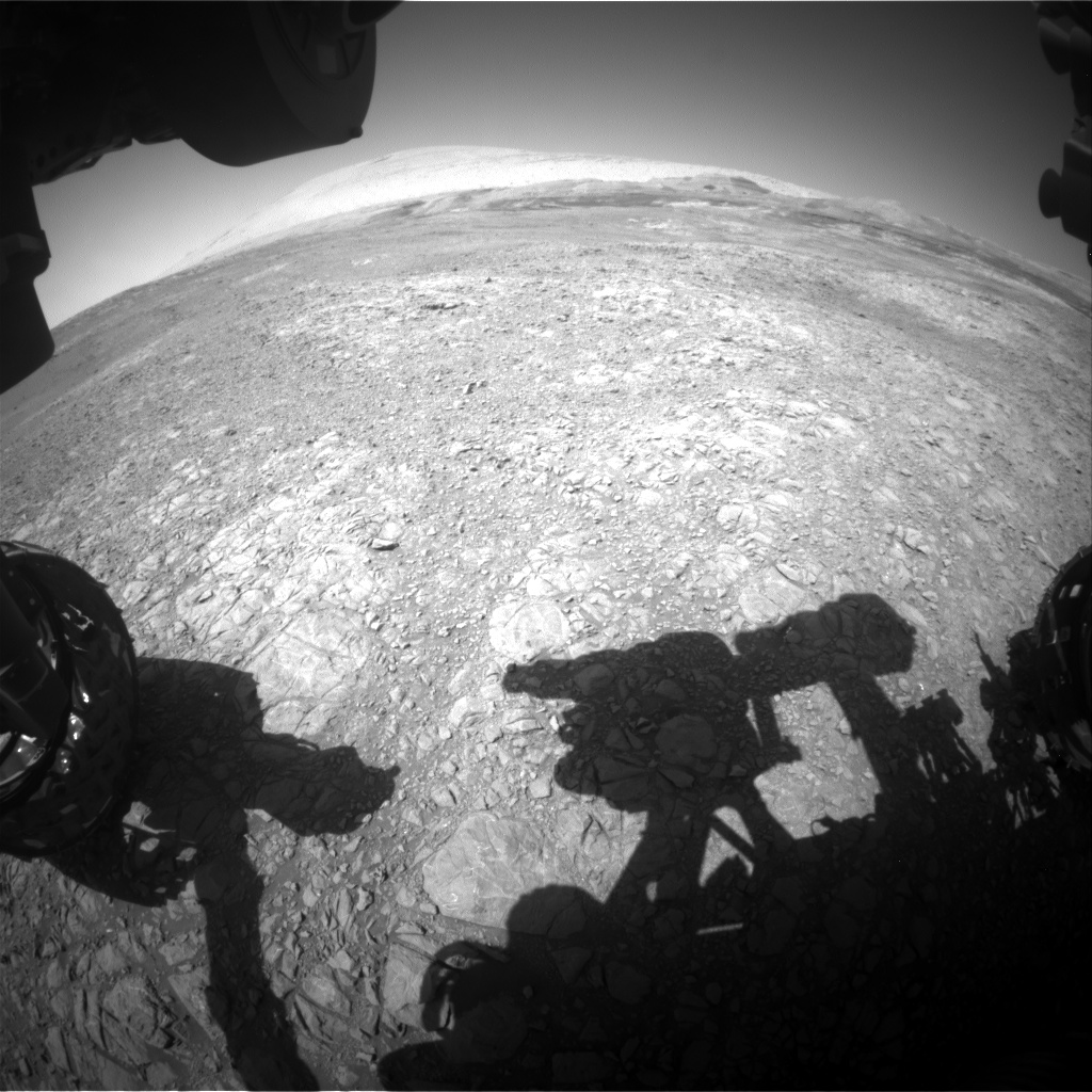 Nasa's Mars rover Curiosity acquired this image using its Front Hazard Avoidance Camera (Front Hazcam) on Sol 1907, at drive 1494, site number 67