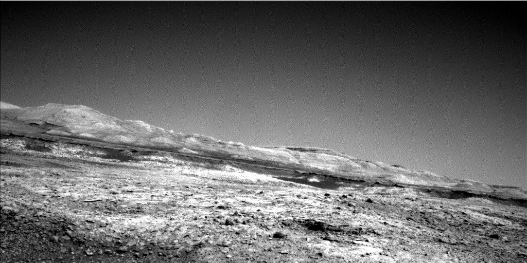 Nasa's Mars rover Curiosity acquired this image using its Left Navigation Camera on Sol 1910, at drive 1714, site number 67