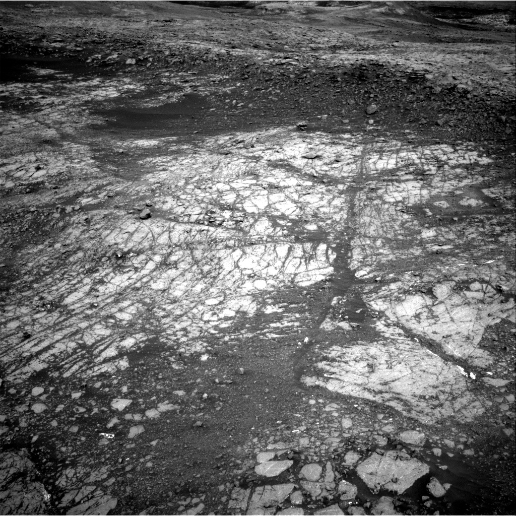 Nasa's Mars rover Curiosity acquired this image using its Right Navigation Camera on Sol 1910, at drive 1714, site number 67