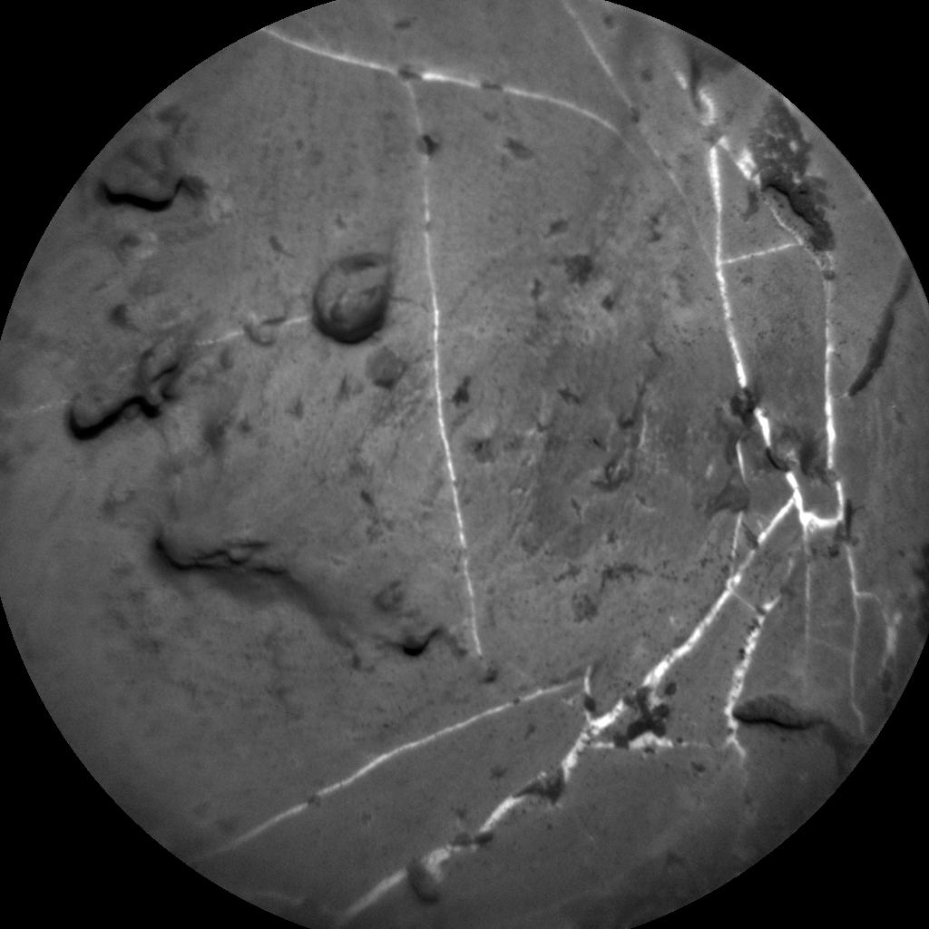 Nasa's Mars rover Curiosity acquired this image using its Chemistry & Camera (ChemCam) on Sol 1911, at drive 1714, site number 67