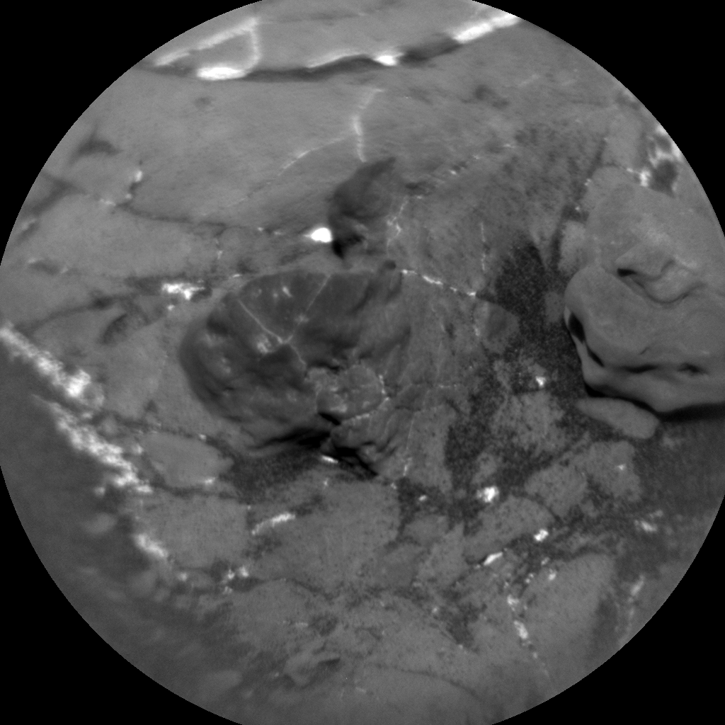 Nasa's Mars rover Curiosity acquired this image using its Chemistry & Camera (ChemCam) on Sol 1912, at drive 1714, site number 67