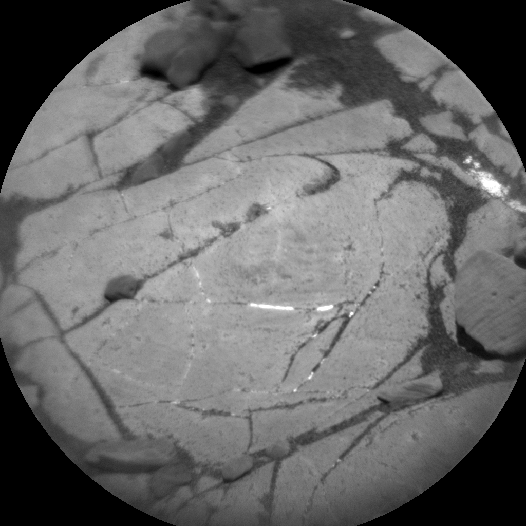 Nasa's Mars rover Curiosity acquired this image using its Chemistry & Camera (ChemCam) on Sol 1917, at drive 1762, site number 67
