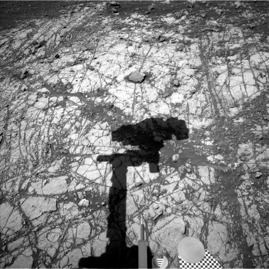 NASA's Mars rover Curiosity acquired this image using its Left Navigation Camera (Navcams) on Sol 1918