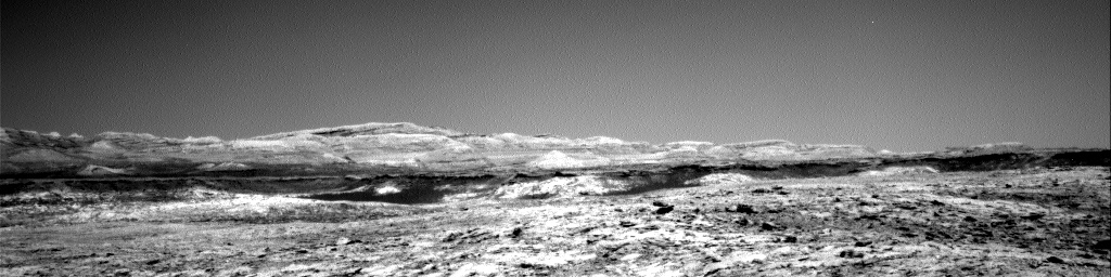 Nasa's Mars rover Curiosity acquired this image using its Right Navigation Camera on Sol 1918, at drive 1762, site number 67