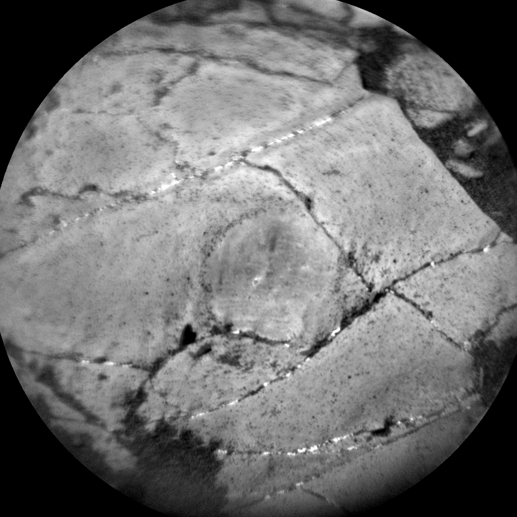 Nasa's Mars rover Curiosity acquired this image using its Chemistry & Camera (ChemCam) on Sol 1918, at drive 1762, site number 67