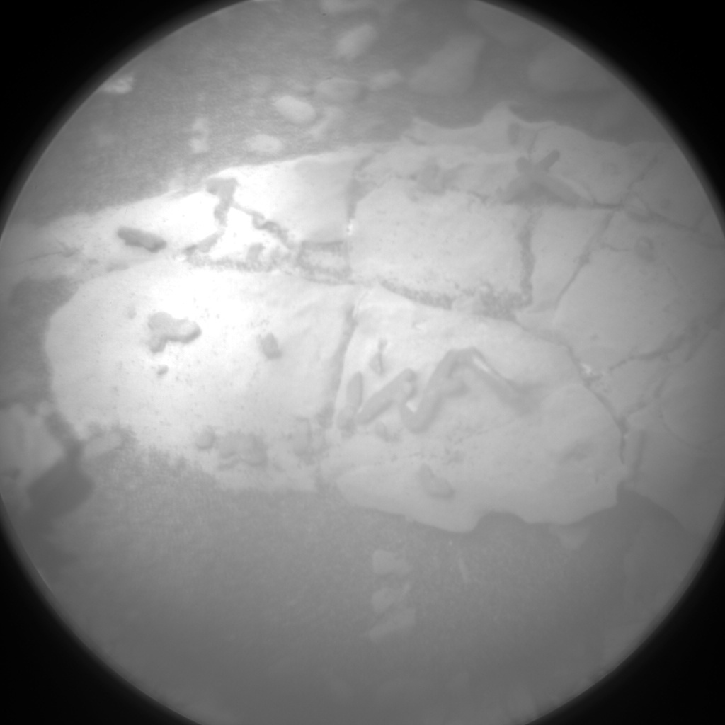 MSL Raw Image from Chemistry & Camera (ChemCam)