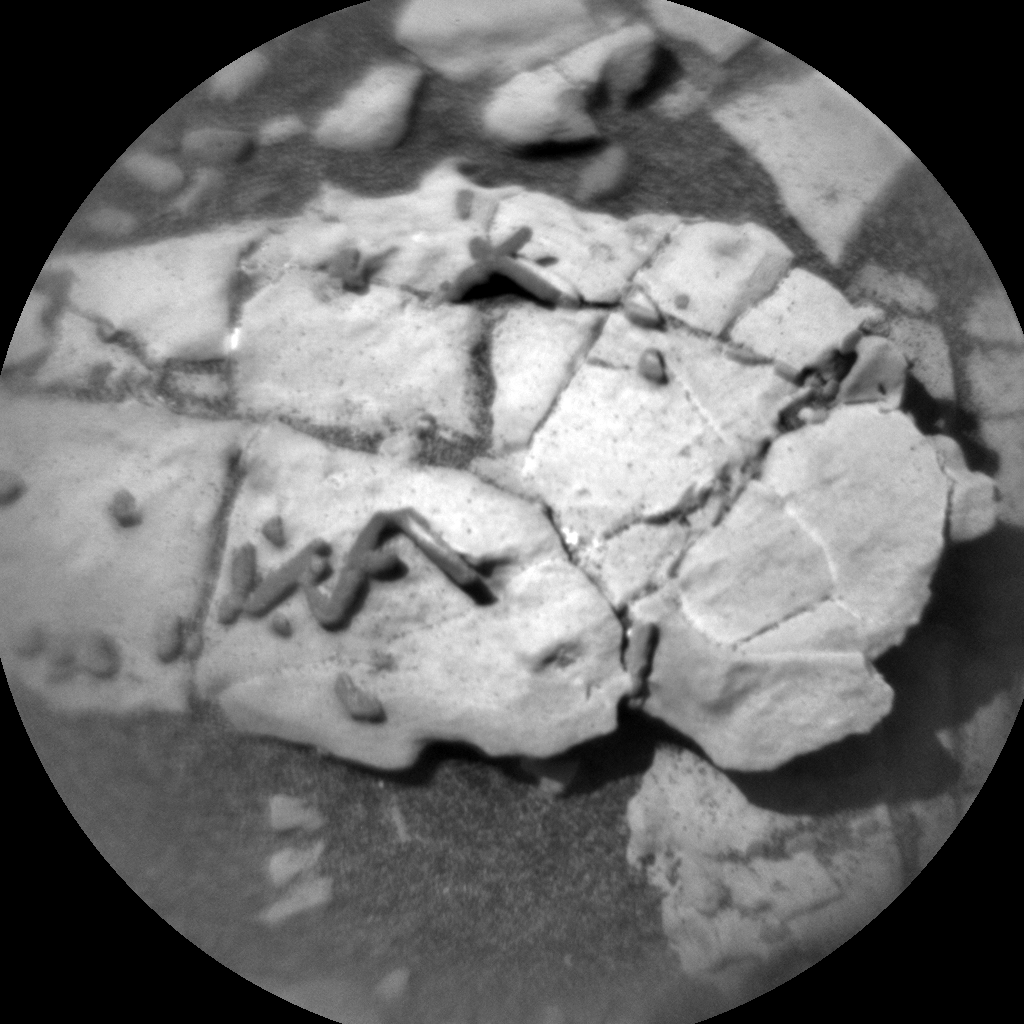 Nasa's Mars rover Curiosity acquired this image using its Chemistry & Camera (ChemCam) on Sol 1921, at drive 1762, site number 67