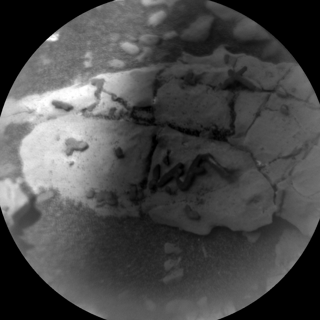 NASA's Mars rover Curiosity acquired this image using its Chemistry & Camera (ChemCam) on Sol 1921