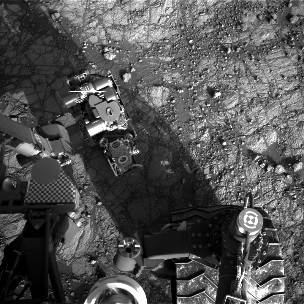 Nasa's Mars rover Curiosity acquired this image using its Right Navigation Camera on Sol 1922, at drive 1762, site number 67