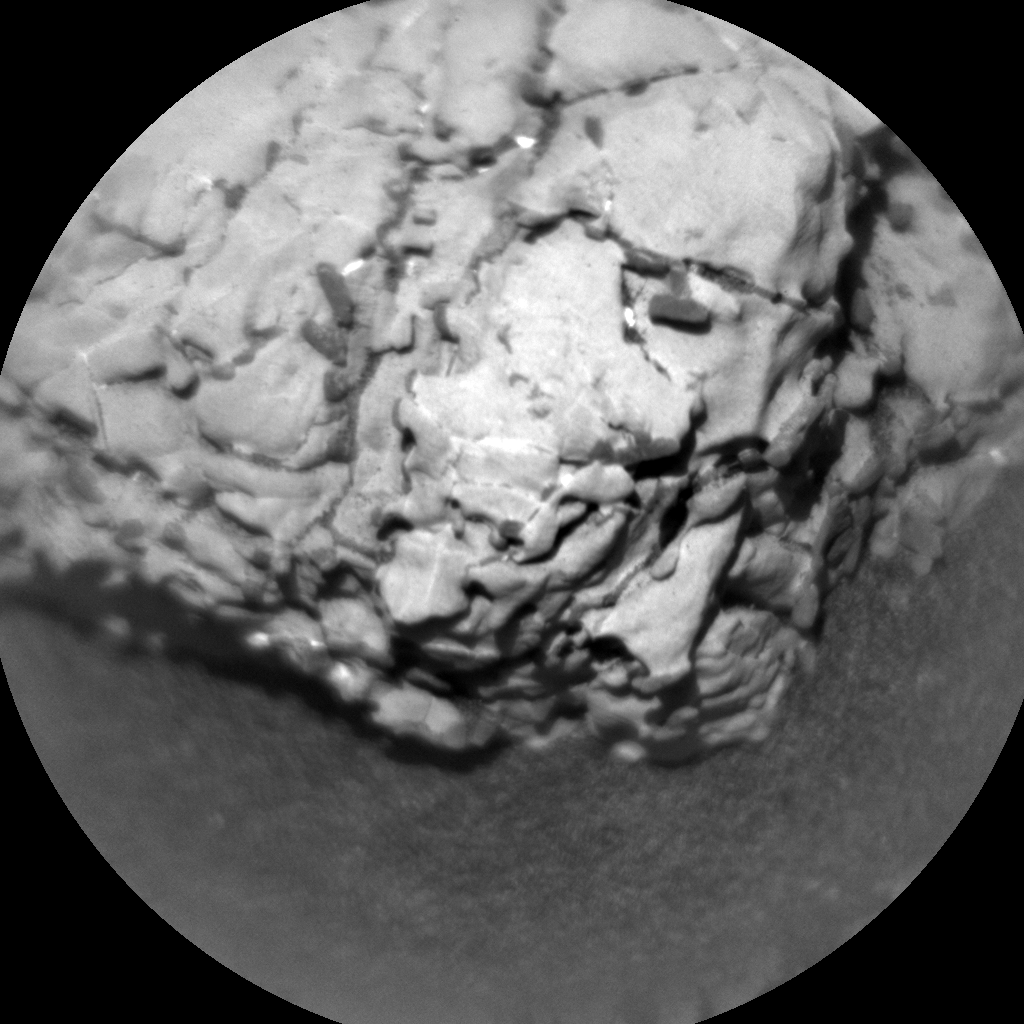 Nasa's Mars rover Curiosity acquired this image using its Chemistry & Camera (ChemCam) on Sol 1922, at drive 1762, site number 67