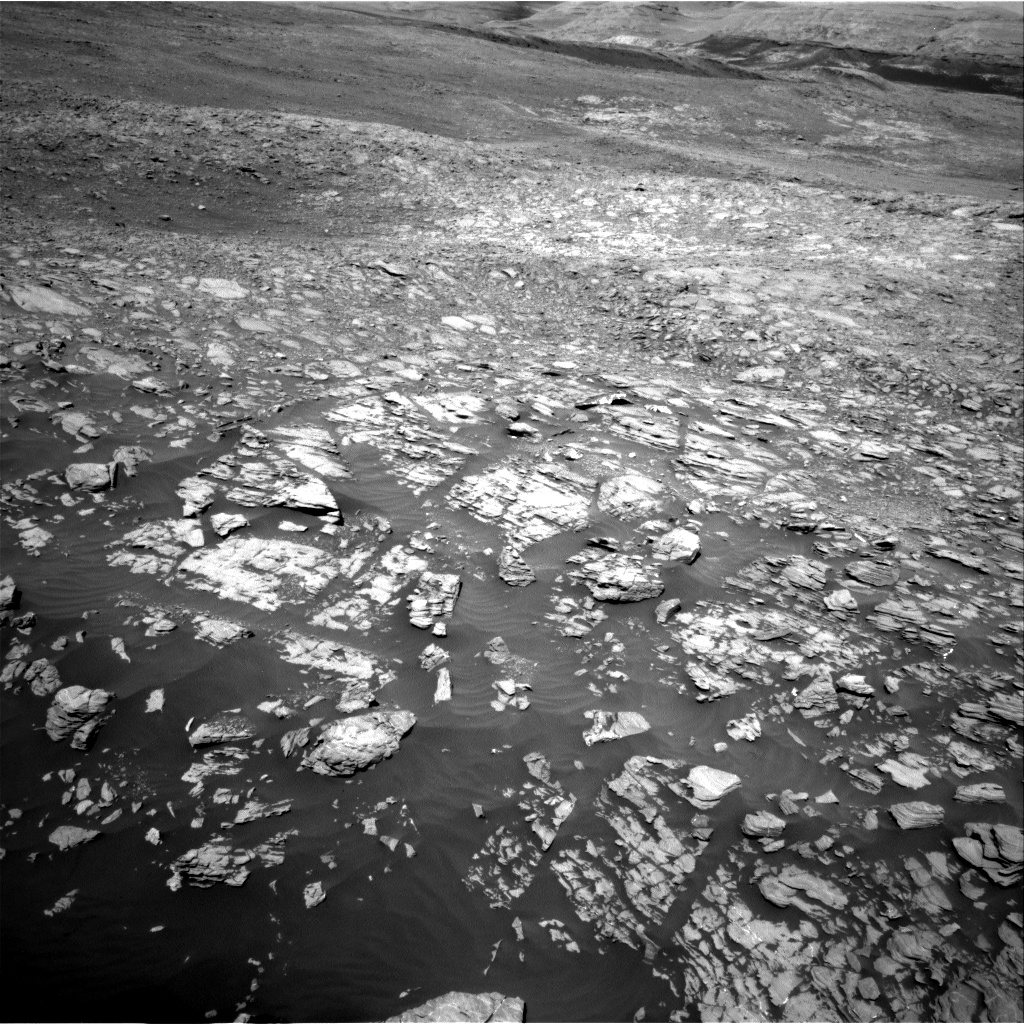Nasa's Mars rover Curiosity acquired this image using its Right Navigation Camera on Sol 1923, at drive 1846, site number 67