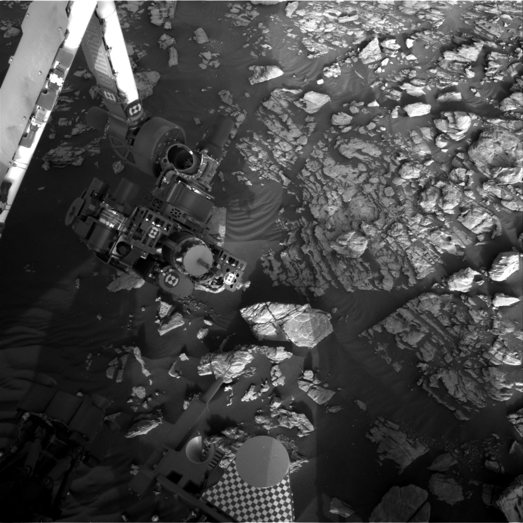 Nasa's Mars rover Curiosity acquired this image using its Right Navigation Camera on Sol 1927, at drive 1846, site number 67