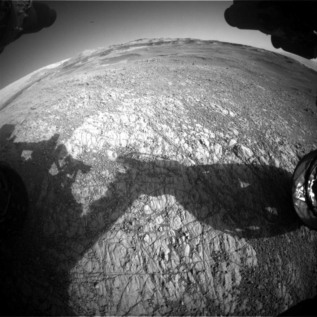 Nasa's Mars rover Curiosity acquired this image using its Front Hazard Avoidance Camera (Front Hazcam) on Sol 1928, at drive 2140, site number 67
