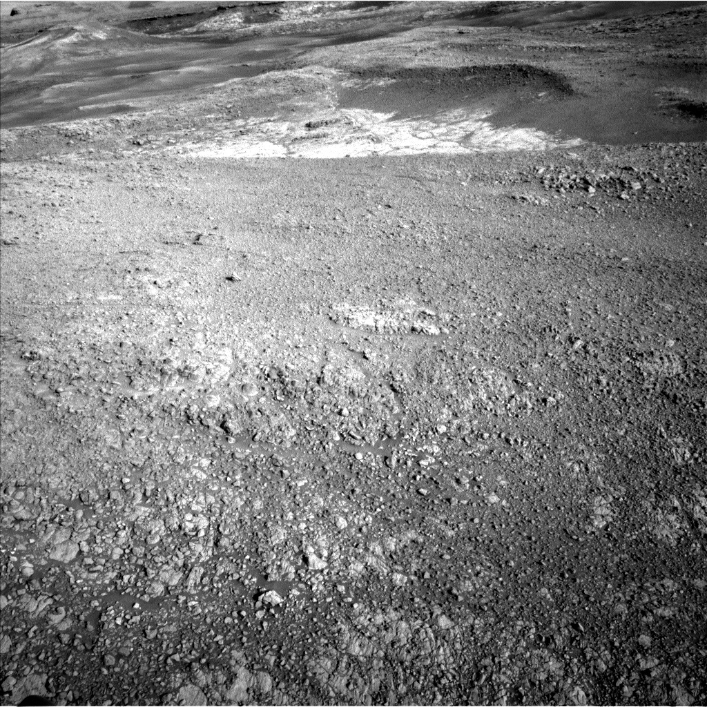 NASA's Mars rover Curiosity acquired this image using its Left Navigation Camera (Navcams) on Sol 1928
