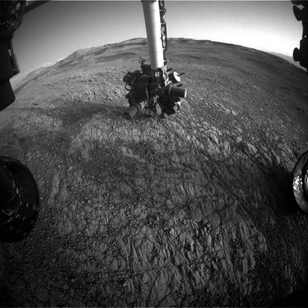 Nasa's Mars rover Curiosity acquired this image using its Front Hazard Avoidance Camera (Front Hazcam) on Sol 1929, at drive 2140, site number 67