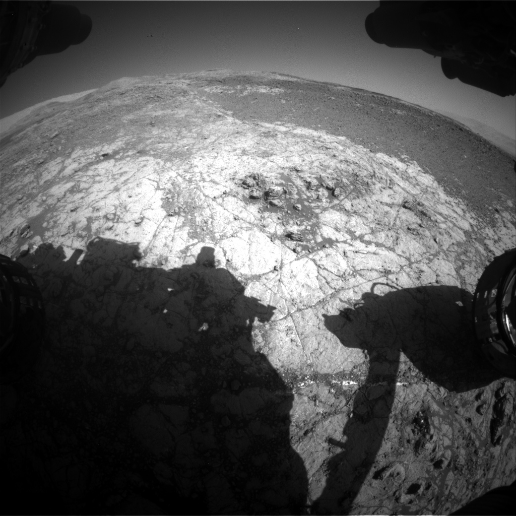 Nasa's Mars rover Curiosity acquired this image using its Front Hazard Avoidance Camera (Front Hazcam) on Sol 1930, at drive 2420, site number 67