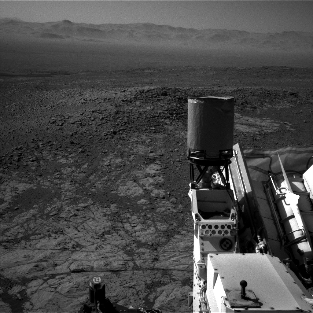 Nasa's Mars rover Curiosity acquired this image using its Left Navigation Camera on Sol 1930, at drive 2420, site number 67