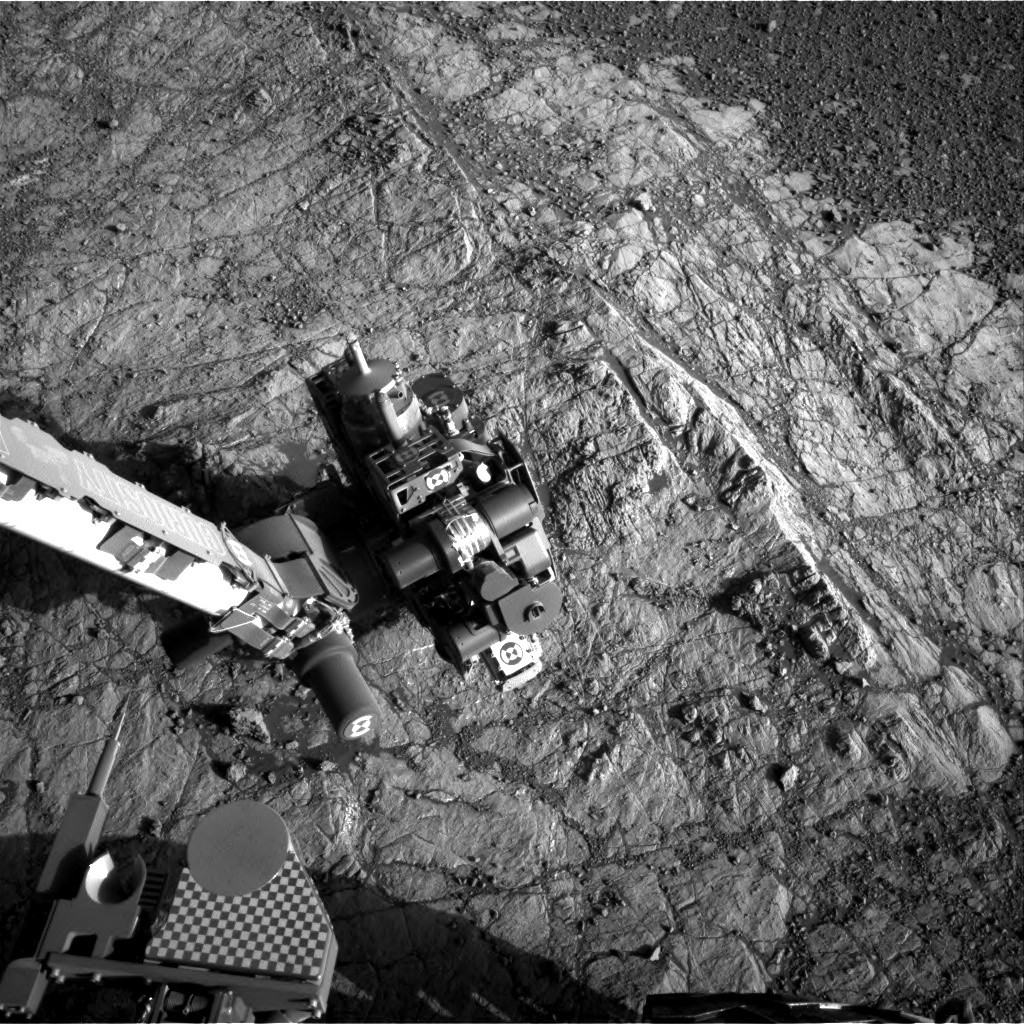 NASA's Mars rover Curiosity acquired this image using its Right Navigation Cameras (Navcams) on Sol 1932