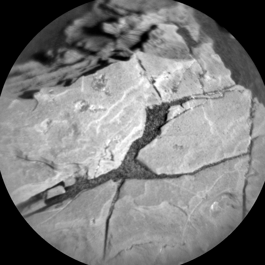Nasa's Mars rover Curiosity acquired this image using its Chemistry & Camera (ChemCam) on Sol 1932, at drive 2420, site number 67