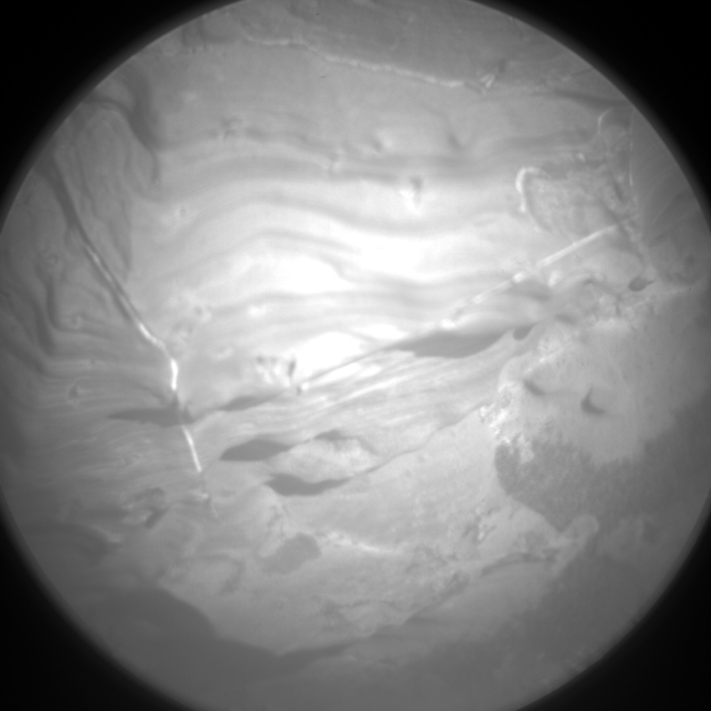Nasa's Mars rover Curiosity acquired this image using its Chemistry & Camera (ChemCam) on Sol 1933, at drive 2420, site number 67