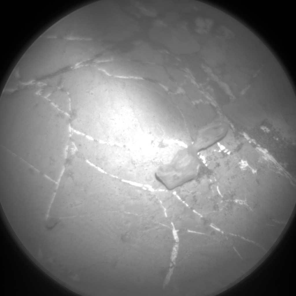 Nasa's Mars rover Curiosity acquired this image using its Chemistry & Camera (ChemCam) on Sol 1934, at drive 2420, site number 67