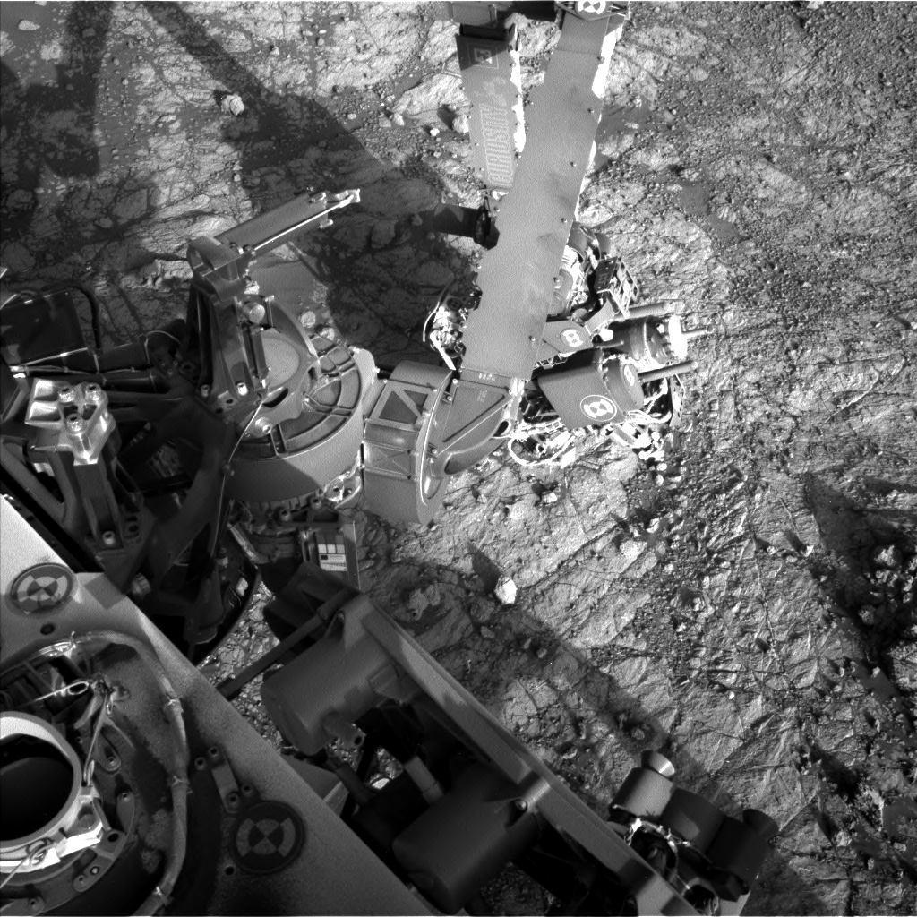 Nasa's Mars rover Curiosity acquired this image using its Left Navigation Camera on Sol 1934, at drive 2420, site number 67