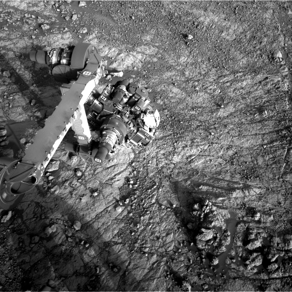 Nasa's Mars rover Curiosity acquired this image using its Right Navigation Camera on Sol 1934, at drive 2420, site number 67
