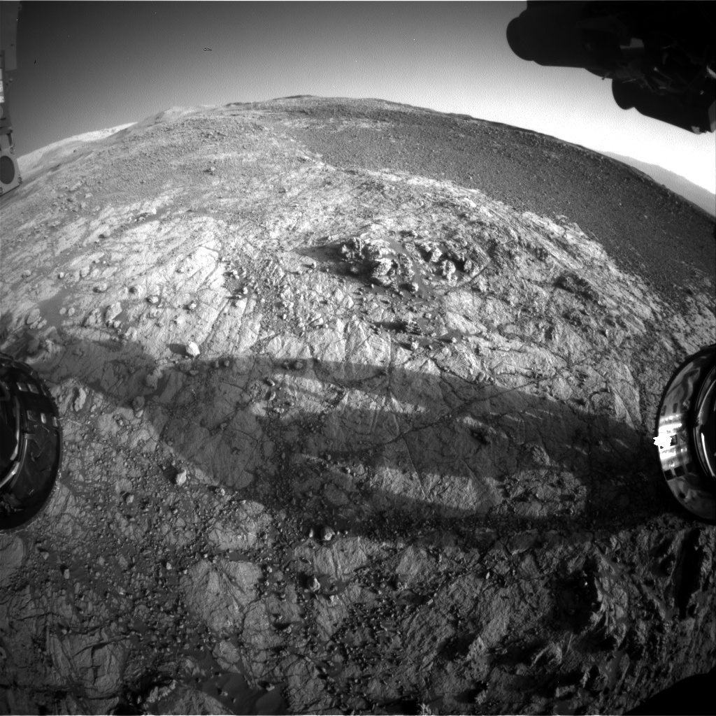 Nasa's Mars rover Curiosity acquired this image using its Front Hazard Avoidance Camera (Front Hazcam) on Sol 1935, at drive 2420, site number 67