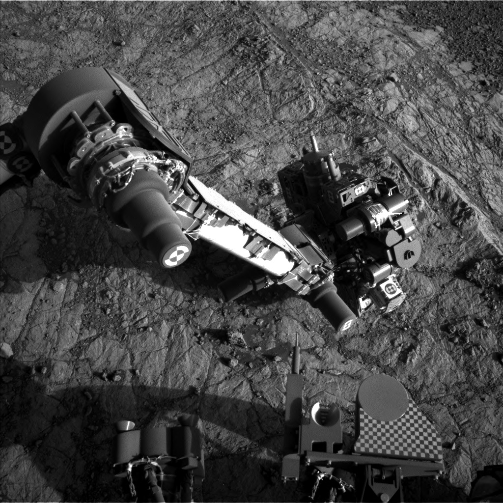 Nasa's Mars rover Curiosity acquired this image using its Left Navigation Camera on Sol 1935, at drive 2420, site number 67