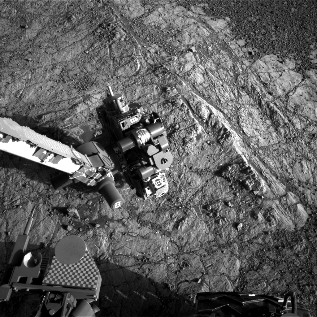 Nasa's Mars rover Curiosity acquired this image using its Right Navigation Camera on Sol 1935, at drive 2420, site number 67